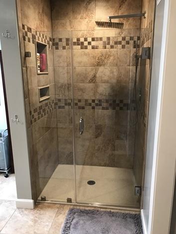 shower enclosure frameless