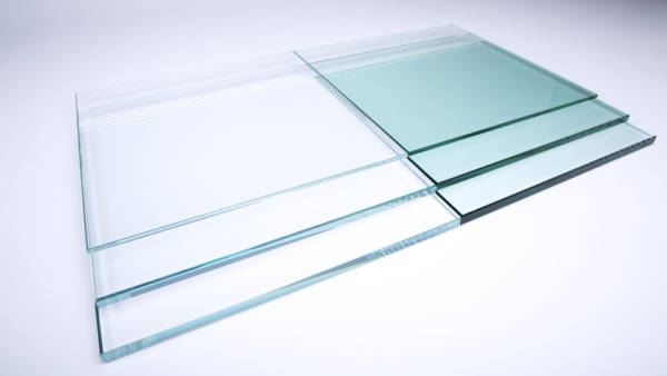 clear and crystal glass